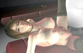 Hot animated gets filled with jizz