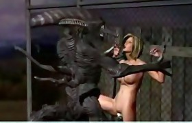 Alien Fuckers. 3D Sci-Fi sex stories