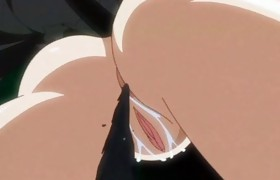 Busty hentai pregnant caught and fucked right..