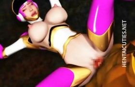 3D anime whore gives oral-service sex