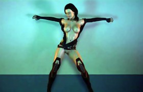 Miranda Lawson hot dancing (Mass Effect)