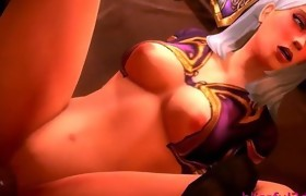 Warrior Playgirl fucked rcreampied