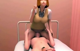 Sweety manga tramp giving blowjob