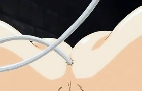 Xxx anime orgy with the tied up sex victims